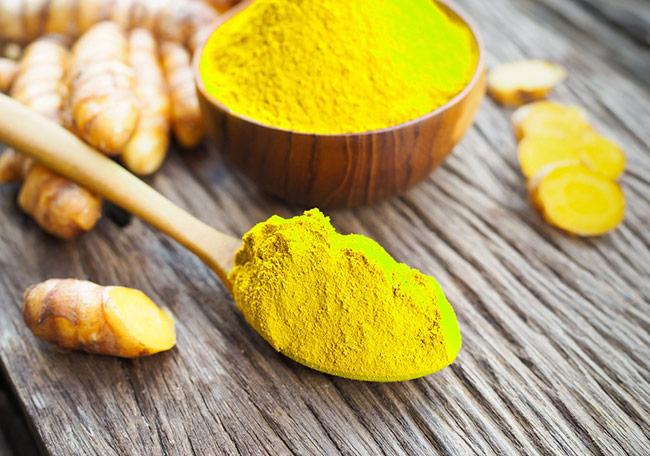 Tinh bột nghệ giúp giảm các vết loét ở niêm mạc dạ dày